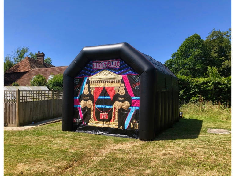 Instant Shelter Hire Inflatable Nightclub